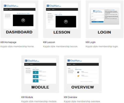 optimizepress 2.0 membership site example